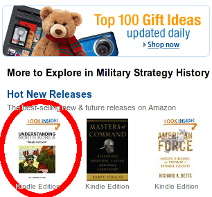 Understanding North Korea featured in Amazon under Military Strategy History
