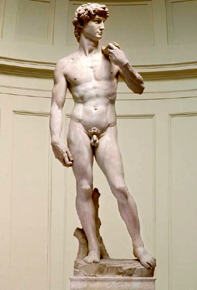 an analysis of the sculptures of david by donatello verrocchio michelangelo and bernini
