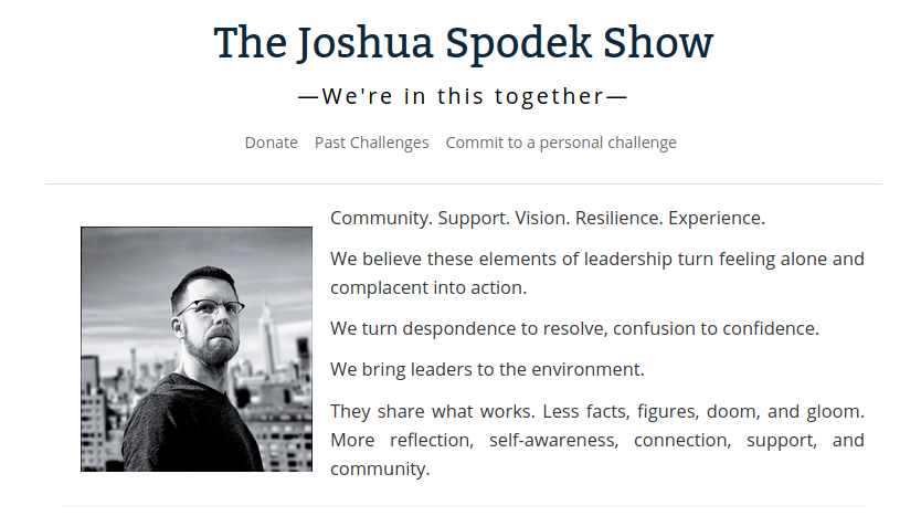 The Joshua Spodek Show